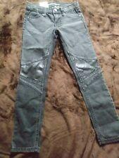 GIRLS JORDACHE ANKLE SUPER SKINNY PANTS W/AJUSTABLE WAIST SIZE 6X NWT