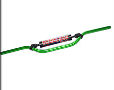 ACCOSSATO MX / ENDURO HANDLEBAR 971-08 RENTHAL BEND GREEN BRACE BAR PADS ALU