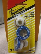 Cooper Bussmann 15 Amp Fuse  #BP/SL-15  New in Package Free Ship