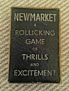 Vintage Retro Card Game Newmarket A Rollicking Game Of Thrills & Excitement Box