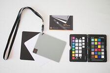 X-Rite ColorChecker Passport & Vello White Balance Digital Grey Card Set