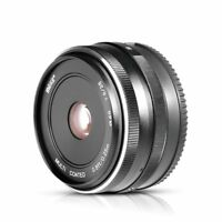 Meike 28mm f/2.8 Manual Focus Fixed Lens for Fujifilm FX Mount Digital Cameras