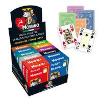 Modiano Poker Spielkarten (4 gr. Eckzeichen)  Kartenspiel 52 Blatt Farbwahl NEU!