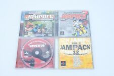 """Lot Of 4 Sony Playstation 1 Demo Discs TOYS """"R"""" US 1998 Tomba Einhander Parappa"""