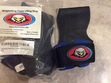 weightlifting power lifting strap eagle profitness Heavy Duty  Padded Grip