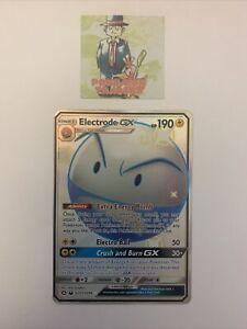 Pokemon Electrode GX SV57/SV94 Pack Fresh MINT Hidden Fates Shiny Vault Rare