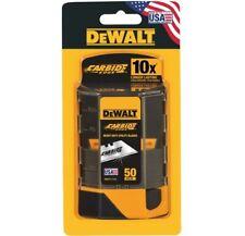 Dewalt Carbide Utility Knife Blades 50-Pack