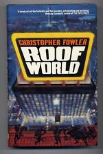 Christopher Fowler ROOFWORLD First Edition SIGNED First novel!