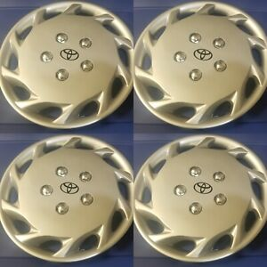 """1997 1998 1999 Toyota Camry Style 877-14S 14"""" Hubcaps / Wheel Covers NEW SET/4"""