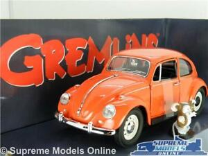 GREMLINS VOLKSWAGEN BEETLE MODEL CAR 1:24 SIZE LARGE FILM RED GREENLIGHT GIZMO R