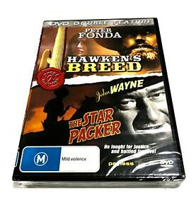 DOUBLE FEATURE Hawken's Breed  / The Star Packer (DVD) BRAND NEW SEALED