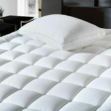 Extra Thick Mattress Topper Pad Cover Pillow Top Cooling Ultra Soft Queen Size
