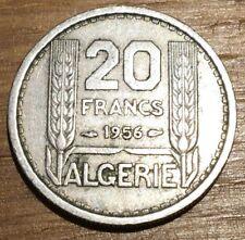 PIECE DE 20 FRANCS TURIN ALGERIE 1956 (215)