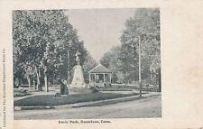 DANIELSON CT – Davis Park – udb (pre 1908)