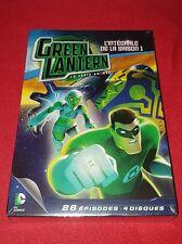 Coffret DVD Green Lantern la série animée Saison 1 Complète