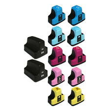 High Yield 12PK Ink Cartridge for HP02 Photosmart C5140 C5150 C6240 C6250 C6280