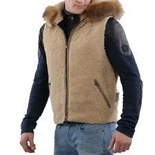 MATCHLESS Herren Winter Innen Weste G3L Natural 110505 Größe L