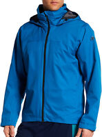 adidas Wandertag Mens Waterproof Jacket Blue Outdoors Size Large 42-44 Chest