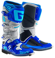 GAERNE SG12 MOTOCROSS ENDURO MX BOOTS BLUE offroad trail bike NEW RRP £480