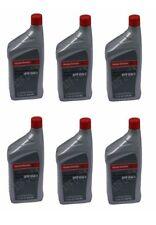 6 Quarts Pack GENUINE ATF Automatic Transmission oil DW1 Fluid fits for Honda