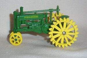"""1/43 Ertl John Deere """"A"""" with NFE Farm Toy Tractor Diecast"""