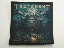 TESTAMENT DARK ROOTS OF WOVEN PATCH