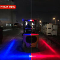 Universal 30W LED Forklift Car Truck Warning Lamp Safety Working Light Lamps