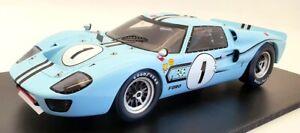 Spark 1/18 Scale Model Car 18S470 - 1967 Ford GT40 Mk 2B #1 Winner 12H Rheims