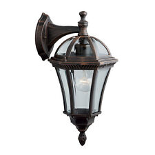 Searchlight 1563 CAPRI Cast Aluminium Rustic Brown Outdoor Wall Light IP44