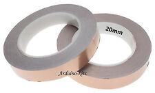 20mm nastro in rame, SLUG & LUMACA REPELLENTE 30 Metri Rotolo UK CHITARRA EMI Shield