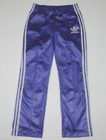 Adidas Originals womens track purple pants trousers Size 36