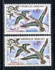 Variété N° 1275 Signé Calvés couleurs rouge et bleu trés décalées Rare Neuf**