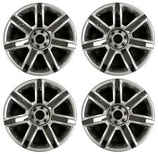"22"" Cadillac Escalade 2015 2016 2017 2018 Factory OEM Rim Insert Wheel 4739 Set"