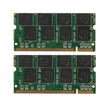 2GB(2x1GB) DDR-266 PC2100 Non-ECC CL2.5 200Pin SODIMM Laptop Notebook Memory RAM