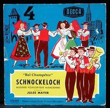 25 cm 10 '' Schnockeloch Jules Mayer LP & CV VG++