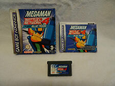 Megaman Battle Network 4 Blue Moon - GBA Game - Boxed + Instructions - UK Pal