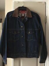 Marlboro Country Store Denim Jean Coat Trucker Jacket Womans Small