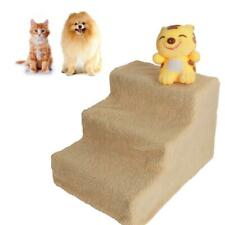 Plastic 3 Steps Pet Stairs Cat step Ladder Dog Climb Ramp Beige 20kg