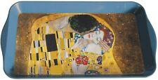 Gustav Klimt Wohnaccessoires Der Kuss Tablett aus Blech ca. 31,5x2x19 cm