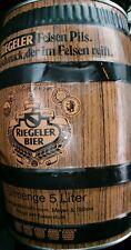 Riegeler Bier 5 Liter Wood Grain Beer Can German