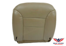 1995-96-97-1998 Chevy Silverado Truck Driver Bottom Leather Seat Covers Tan