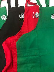 STARBUCKS COFFEE Original  Apron various design with pockets