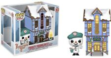 FUNKO POP! FROSTY FRANKLIN WITH POST OFFICE NEW #03 PEPPERMINT LANE CHRISTMAS