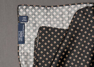 Mens POLO RALPH LAUREN Silk Pocket Squares Multiple Colors Available NWT