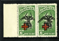 Liberia Stamps # B3 XF OG NH Double Surcharge
