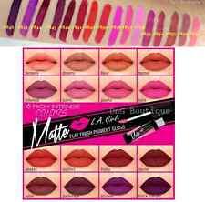 (U PICK ANY 818 Pcs) Colors LA Girl Matte Finish Lip Gloss  LIPSTICK L.A.