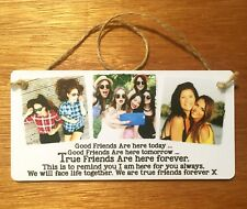 8x4'' Personalised Photo Plaque Best Friend, Special Friend Gift Thank you