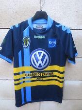 Maillot rugby club Arlésien porté n°1 KAPPA ARLES shirt moulant jersey M