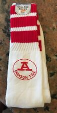 1970S NOS Alabama Football Tube Socks Esquire College Size 9-15