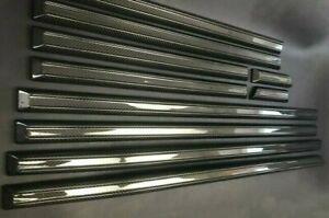 G63 G55 G65 G Wagon W463 Mercedes-Benz Set Side Molding Trims Mouldings Carbon